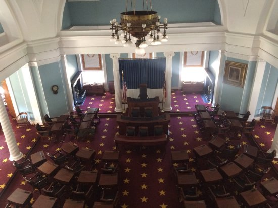 North Carolina State Capitol: Senate Room From The 3rd Floor