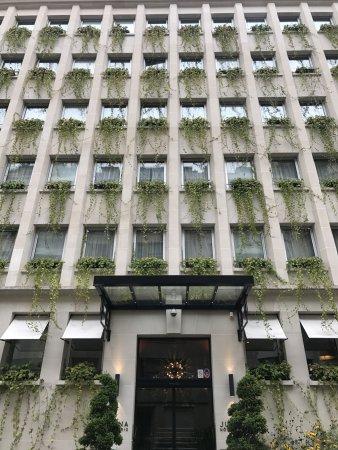 Gorgeous Lush Exterior Picture Of Hotel Juliana Paris