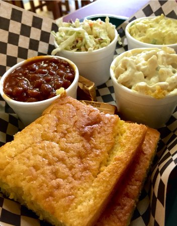 BBQ Joint: We make everything in house from family recipes.