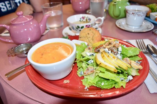 Stayton, OR: Soup and salad combo