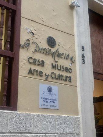 La Presentación casa Museo de arte y cultura