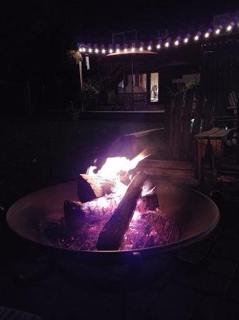 Cranmore Inn: Fire pit
