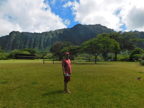 Kaneohe, HI: view of mountains