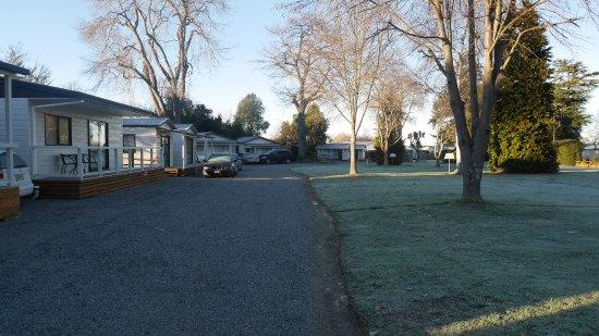 Geraldine, Yeni Zelanda: in the park
