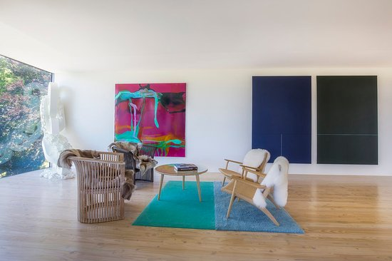 Upper Moutere, Nueva Zelanda: Owner's Penthouse Art Gallery