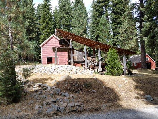 Graeagle, CA: Mining Equipment near museum