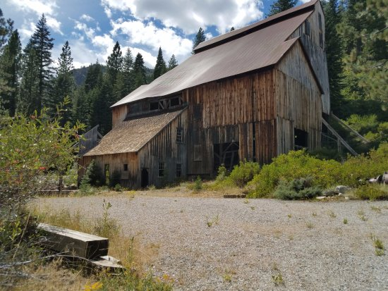 Graeagle, CA: Stamp Mill near museum - not currently accessible