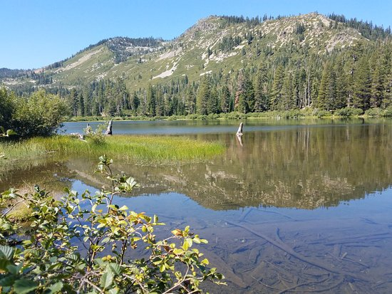 Graeagle, CA: Grass Lake - nobody else there on Thursday at noon