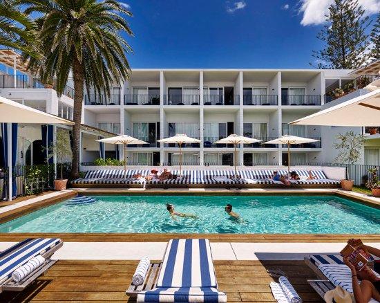 Cabarita Beach, Australië: Pool View