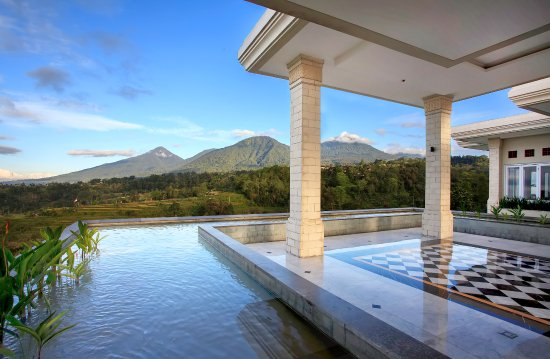 Baturiti, Indonesia: View from Lobby