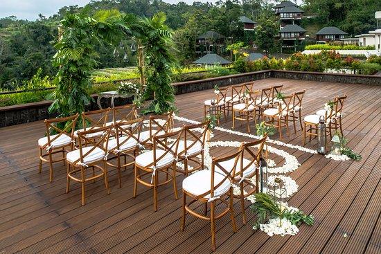 Baturiti, Indonesia: Rooftop Wedding
