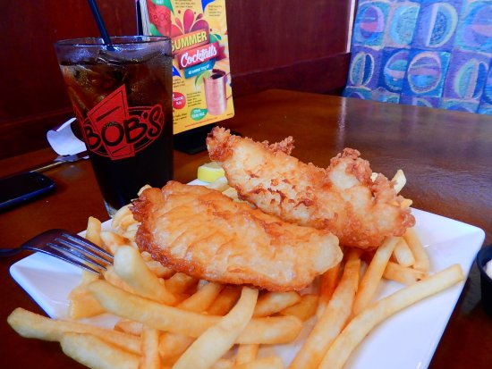 Blaine, WA: fish and chips