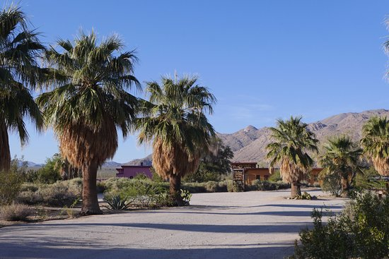 29 Palms Inn: Property entrance