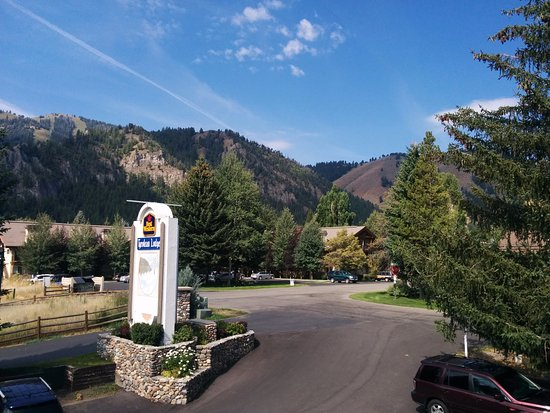 Ketchum, ID: View from front of hotel