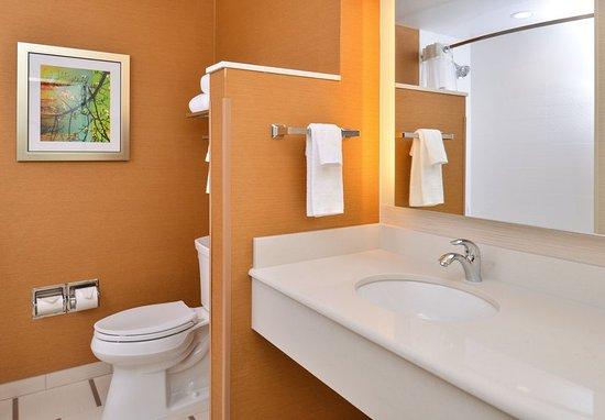 Woodland, Califórnia: Guest Bathroom