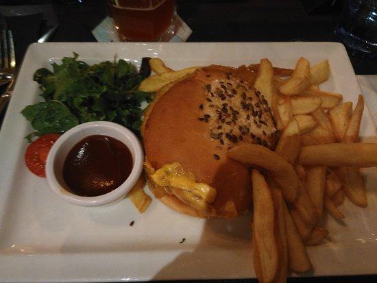 Toujours un dlice Hamburger chichen coupe toblerone