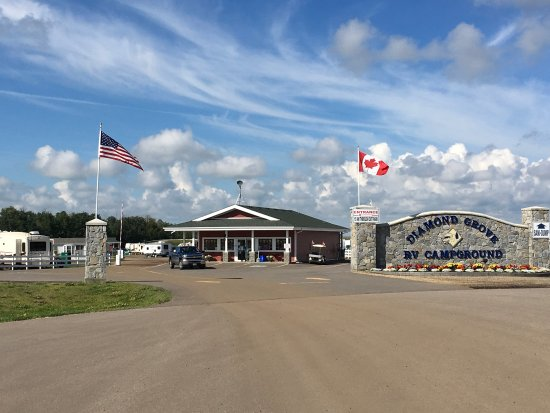 Diamond Grove RV Campground, Spruce Grove AB