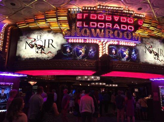 El Dorado Theatre 2 Show Time Picture Of Eldorado Showroom