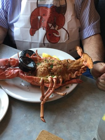 Westbrook, CT: Baked Stuffed Lobster