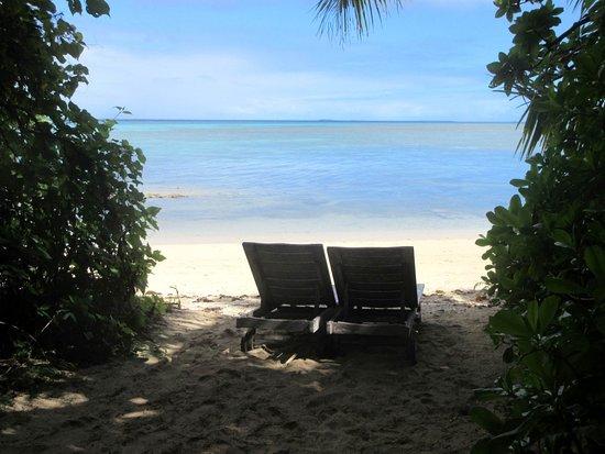 Fafa Island, Tonga : Virtual private beach