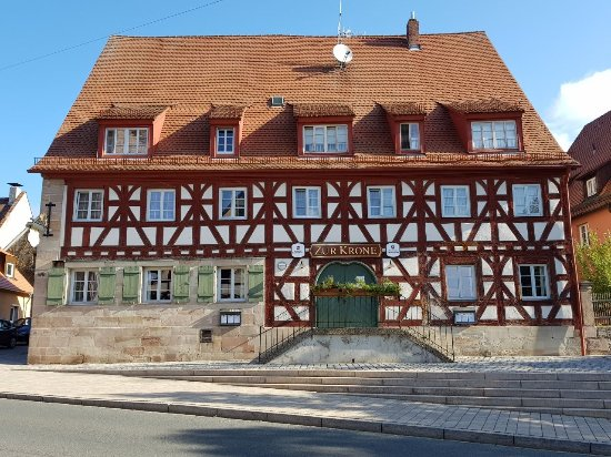 Fuerth, Germany: Restaurant Zur Krone
