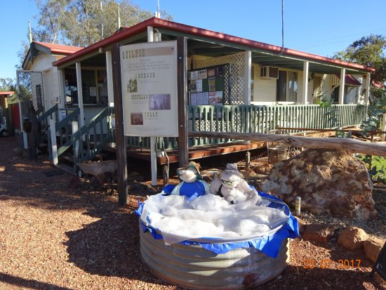 Quilpie, Australien: Not the real spa