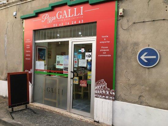 Villefranche-de-Lauragais, France: Pizza Galli