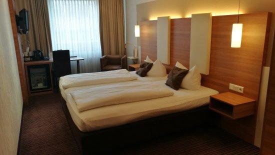 Hotel Cristal : Mein Zimmer ist modern und geräumig