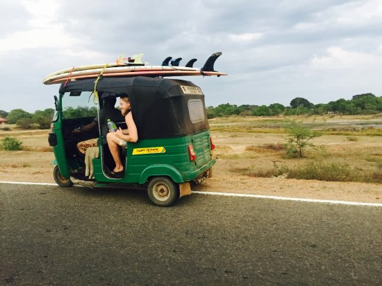 ‪‪Arugam Bay‬, سريلانكا: TUK TUK Surf Safari. we organize TUK TUK safes to surf and wildlife watching‬