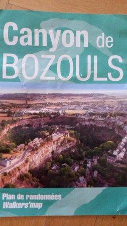 Bozouls, Francia: Plan