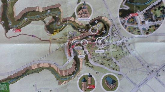 Bozouls, France: Plan des randonnées