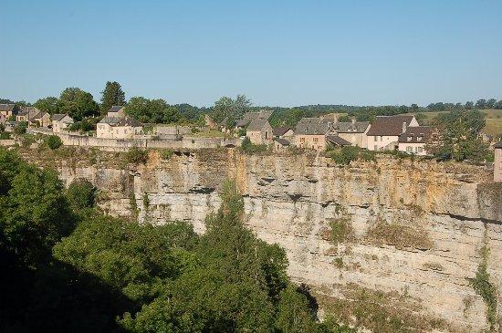 Bozouls, France: Le canyon depuis le village