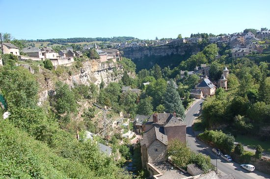 Bozouls, Francia: Vue du village