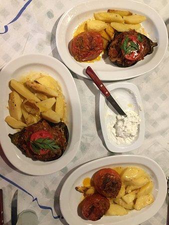 Agios Prokopios, Griechenland: Sehr leckeres vegetarisches Essen!