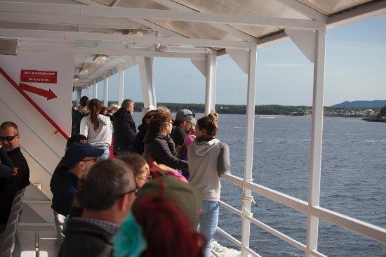 Tadoussac, Canada: La nave Grand Fleuve