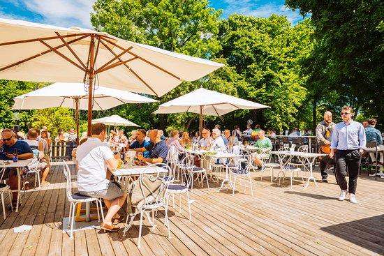 Landskrona, Szwecja: Trädgården