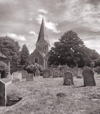 Shere, UK: St. James's Church