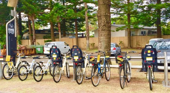 The bike hire at d Albora is a great thing to do in Nelson bay.