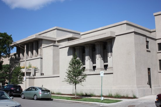 ‪Frank Lloyd Wright's Unity Temple‬