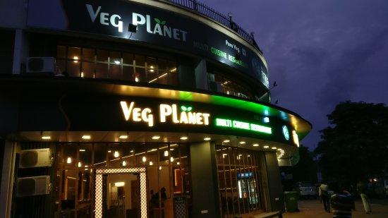 Veg Planet: outside view