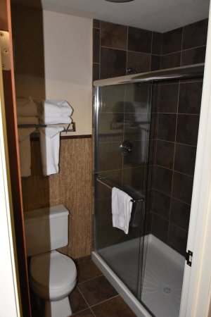 Holiday Inn West Yellowstone: walk-in shower