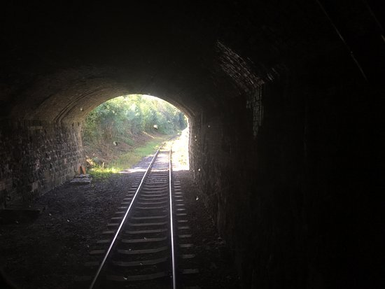 Ecclesbourne Valley Railway: Duffield tunnel