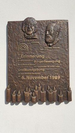 Gedenktafel für Erika Drees und Hans-Peter Schmidt