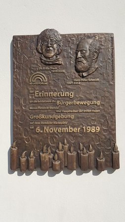 Stendal, Jerman: Gedenktafel