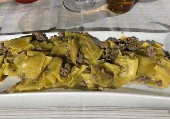 Cascina, Italia: Pappardelle