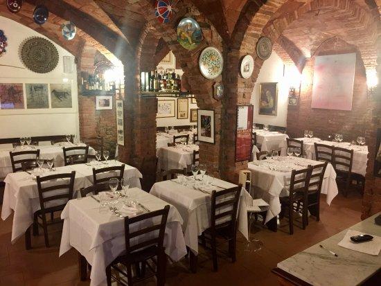 Grotta di santa caterina siena ristorante recensioni numero di telefono foto tripadvisor - Ristorante da divo siena ...