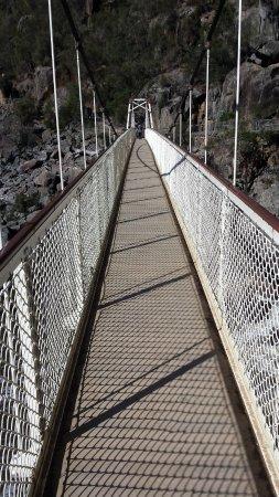 Launceston, Australia: Alexandra Suspension Bridge
