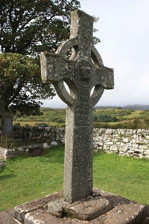 Port Ellen, UK: wonderfully preserved cross