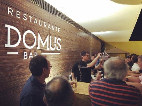 Anadia, Portugal : Domus Restaurante & Bar