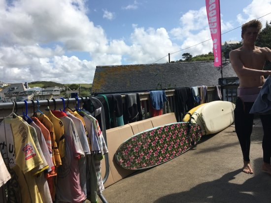 Surf's Up Surf School: Surfs up colours